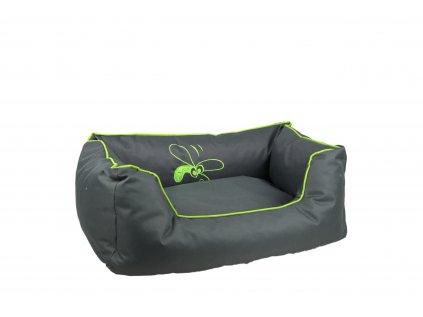 Huhubamboo kanape S sivo zelené
