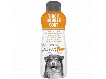 Tropiclean šampón na hustú srsť s podsadou, 473 ml