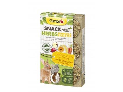 Gimbi Snack Plus bylinky MARIG banán 50 g