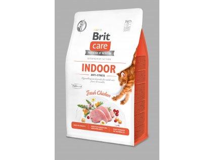 Brit Care Cat Grain-Free Indoor Anti-stress 0,4kg