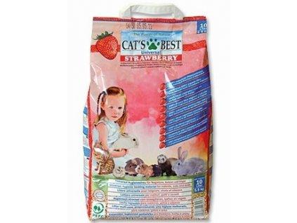 2226 cat s best strawberry podestylka 10l