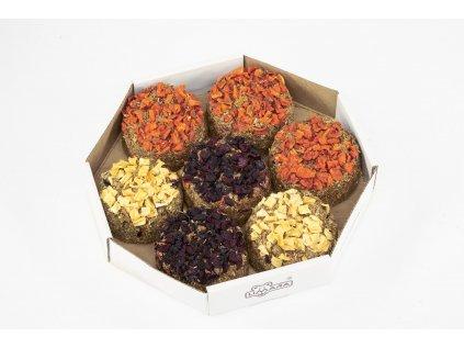 Bezobilne zeleninové muffiny 350g