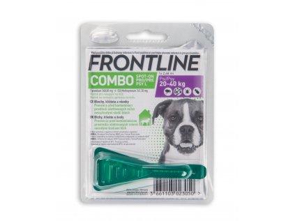 2613 frontline spot on combo pro psy l 20 40 kg
