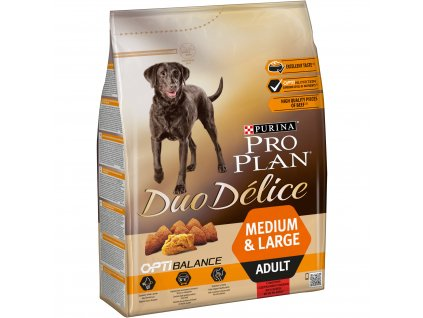 3036 purina pro plan duo delice adult beef 2 5kg