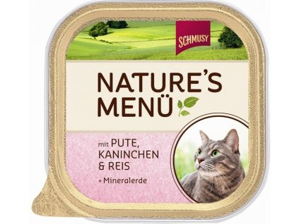 5265 finnern schmusy nature kitten pastika teleci drubez 100g