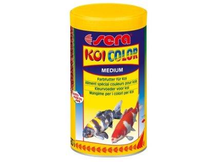 645 sera doplnkove krmivo pro koi podpora vybarveni ryb koi color medium 1000ml