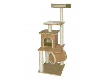 6372 cat gato skrabadlo bamboo iii 164cm