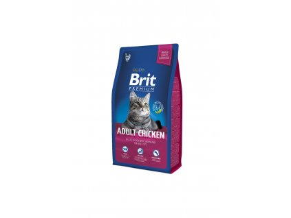 6534 brit premium cat adult chicken 8kg
