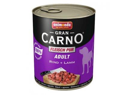 867 animonda grancarno adult konzerva pro psy hovezi jehneci 400g
