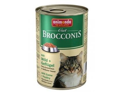 1059 animonda brocconis konzerva pro kocky zverina drubez 400g