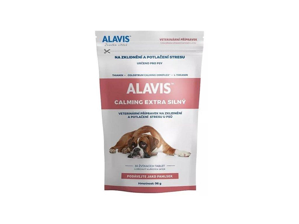 7734 alavis calming extra silny pro psy 96g 30 tablet