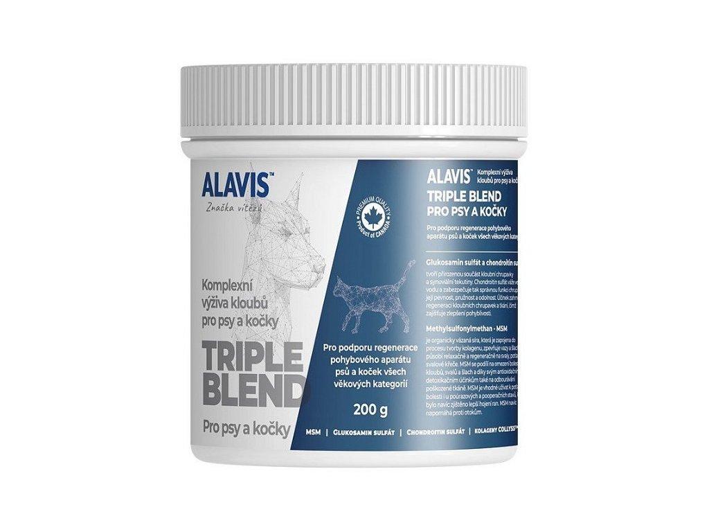 7626 alavis triple blend pro psy a kocky 200g