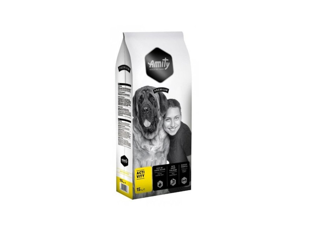 AMITY premium dog ACTIVITY 15kg | Tenesco.cz