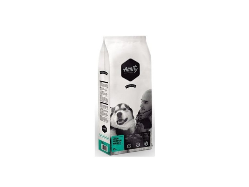 AMITY premium dog HIGH PERFORMANCE 15kg | Tenesco.cz