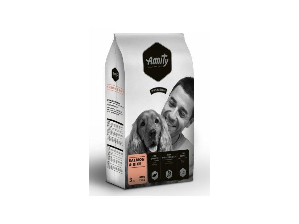 Amity Premium dog Salmon & Rice 3 kg