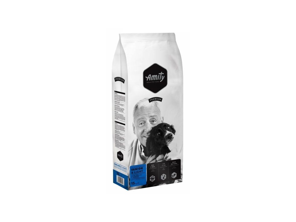 AMITY premium dog SENIOR Light 15kg | Tenesco.cz