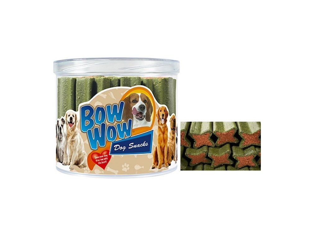 Bow Wow Eukalyptová pochoutka balení 1000 g 30 ks