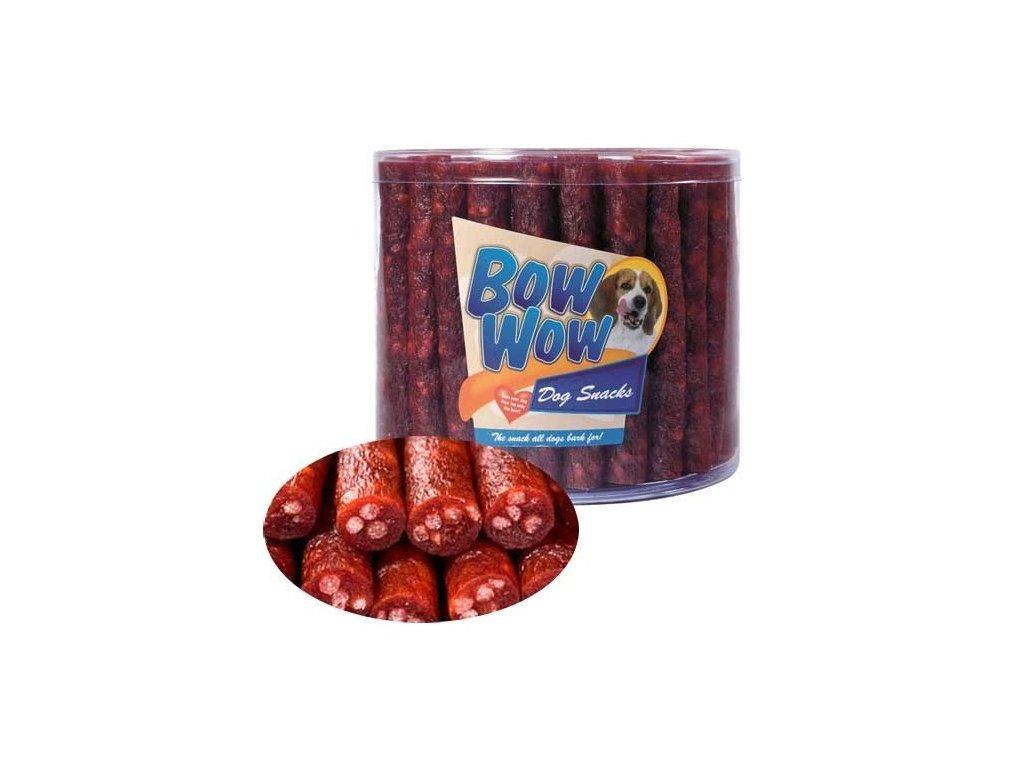 Bow Wow Mini uherské salámky balení 1400 g 60 ks