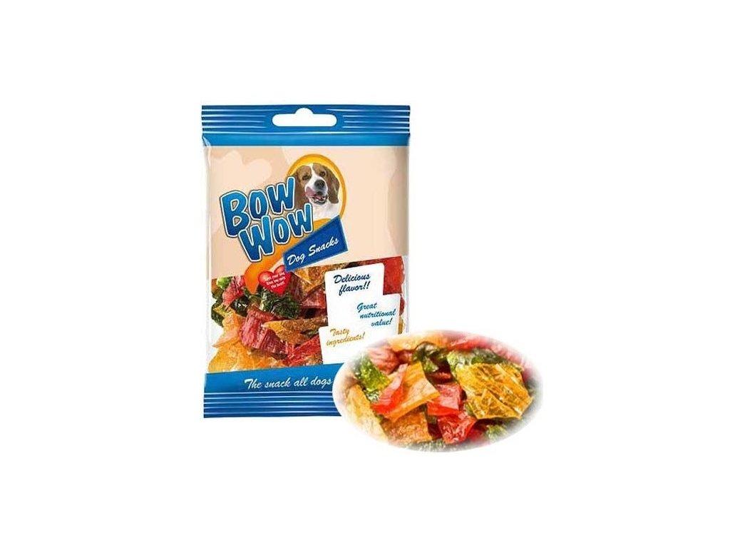 Bow Wow želatinové chipsy 60 g 23 ks