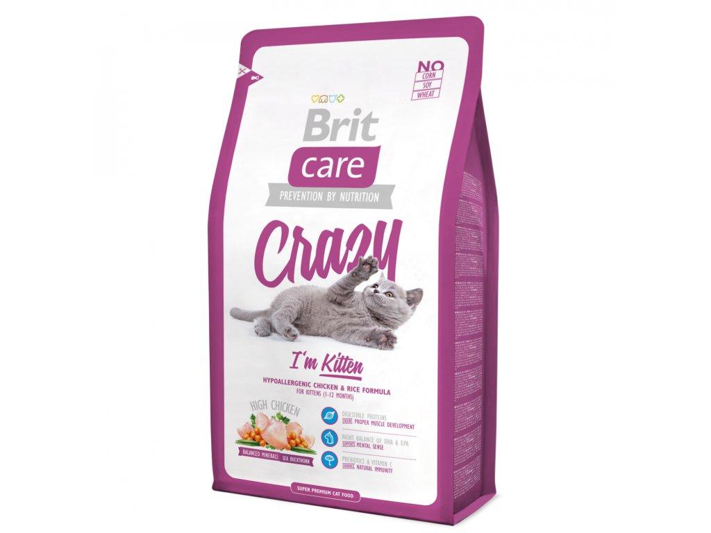 2964 brit care cat crazy kitten 2kg