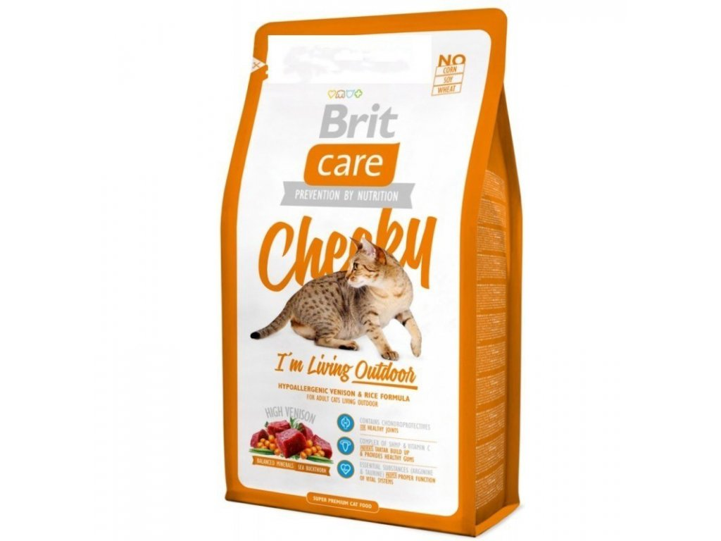 3000 brit care cat cheeky living outdoor 2kg