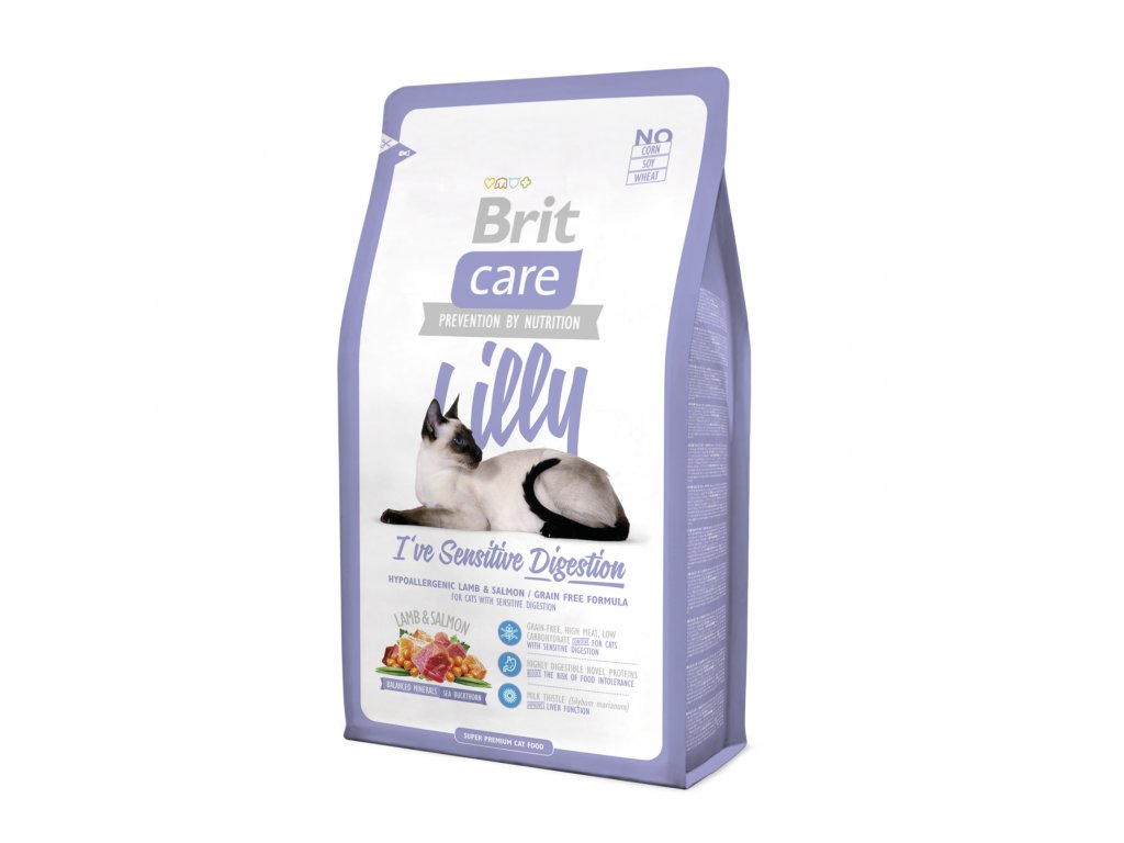 Brit Care Cat Lilly Sensitive Digestion 2 kg