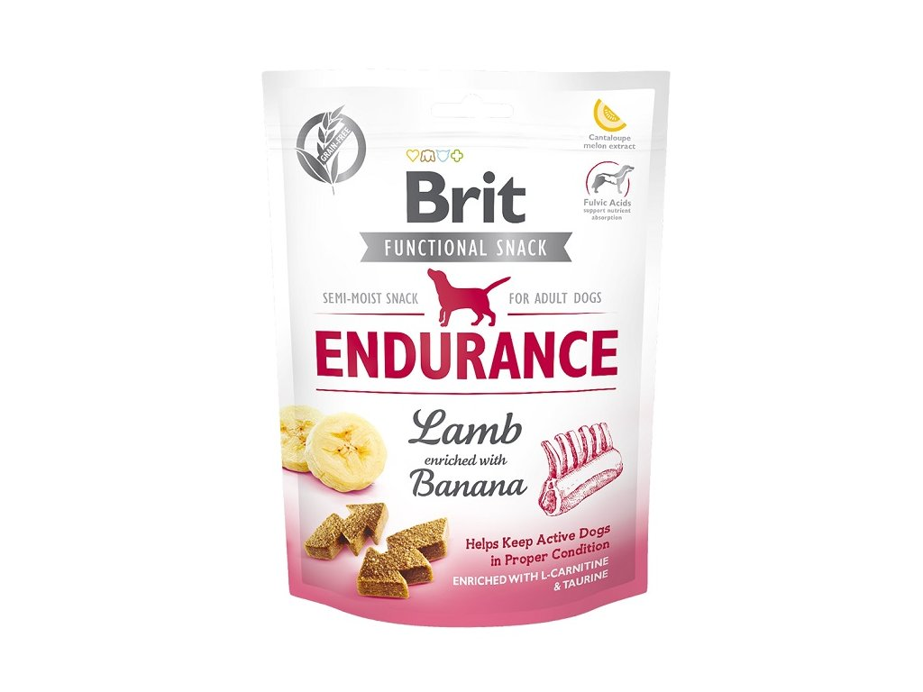 7617 brit care dog functional snack endurance lamb 150g