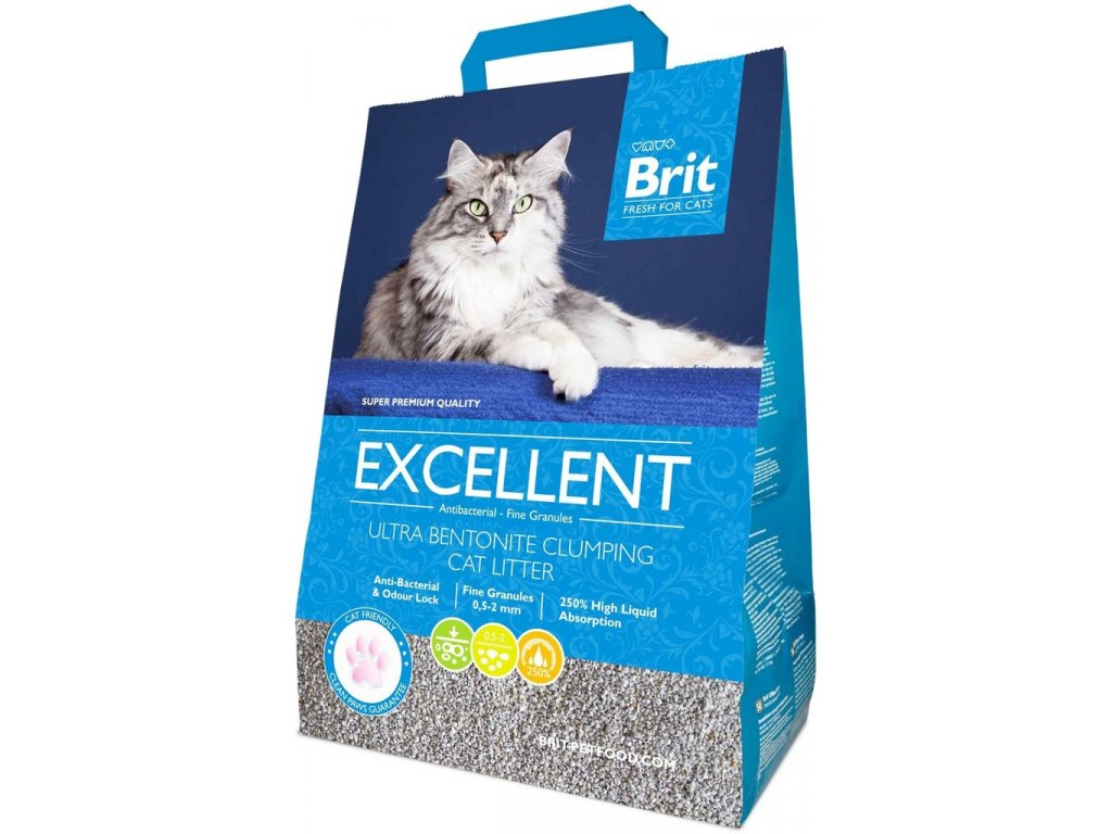 3405 brit fresh for cats excellent ultra bentonite 10kg