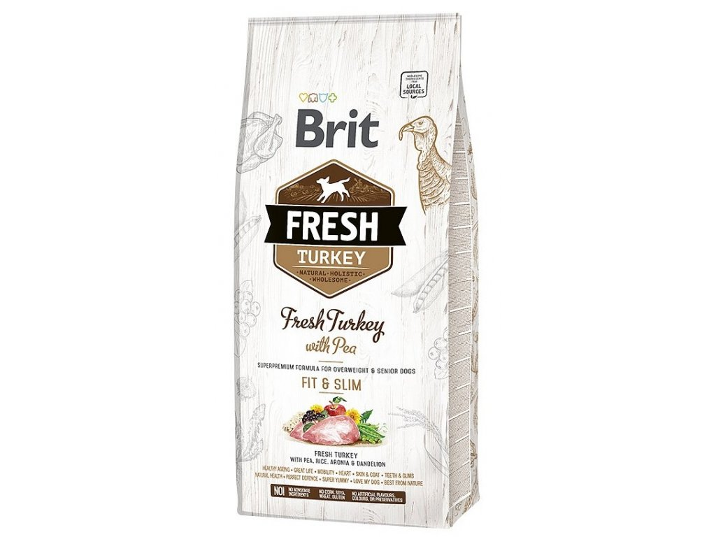 6939 brit fresh turkey pea light fit slim 12kg