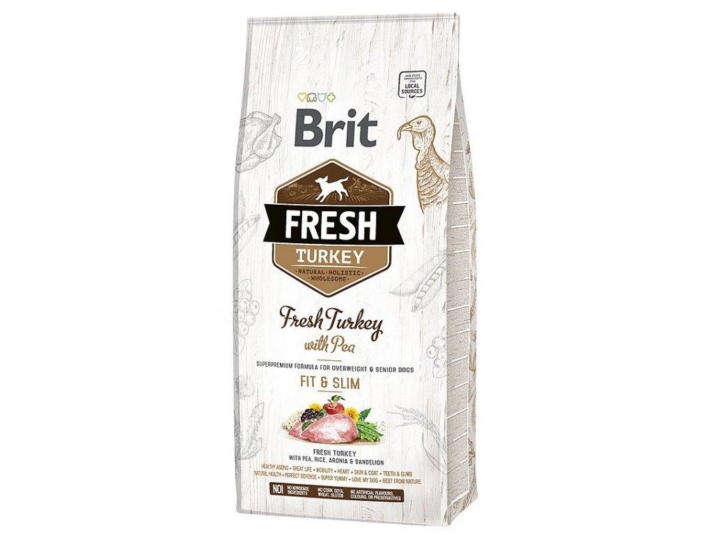 Brit Fresh Turkey & Pea Light Fit & Slim 12 kg