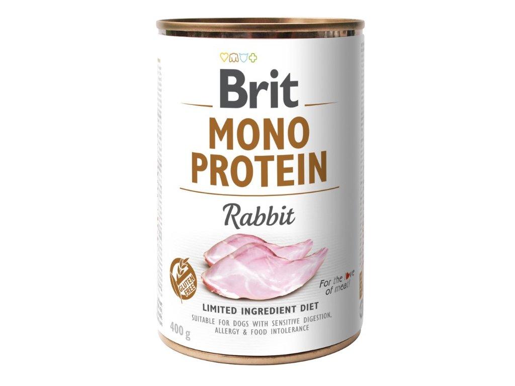 8085 brit mono protein rabbit 400g 3 1 zdarma