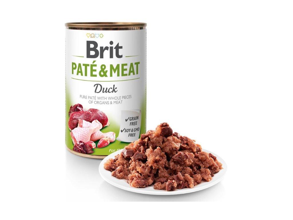6954 brit pate meat duck 800g