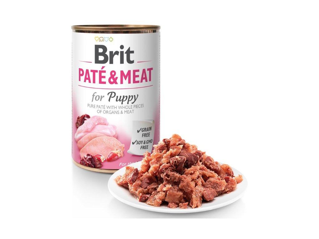 6948 brit pate meat puppy 800g