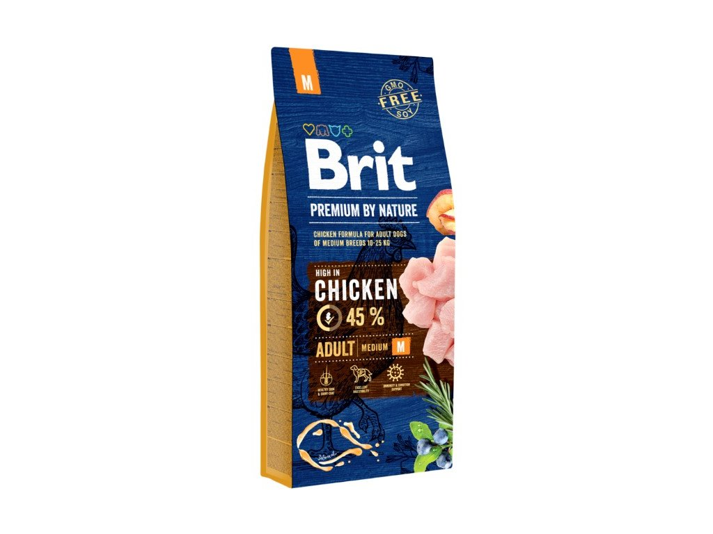 5349 brit premium by nature adult m 15kg