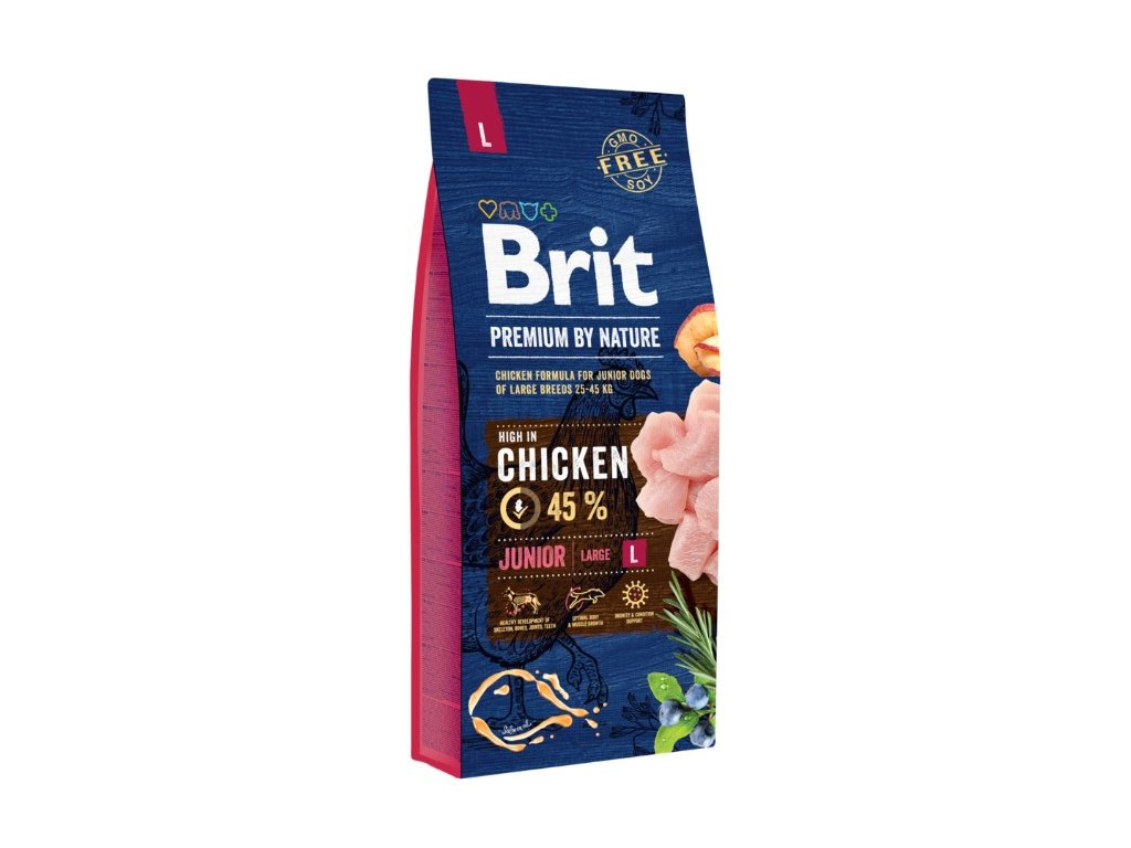5361 brit premium by nature junior l 15kg