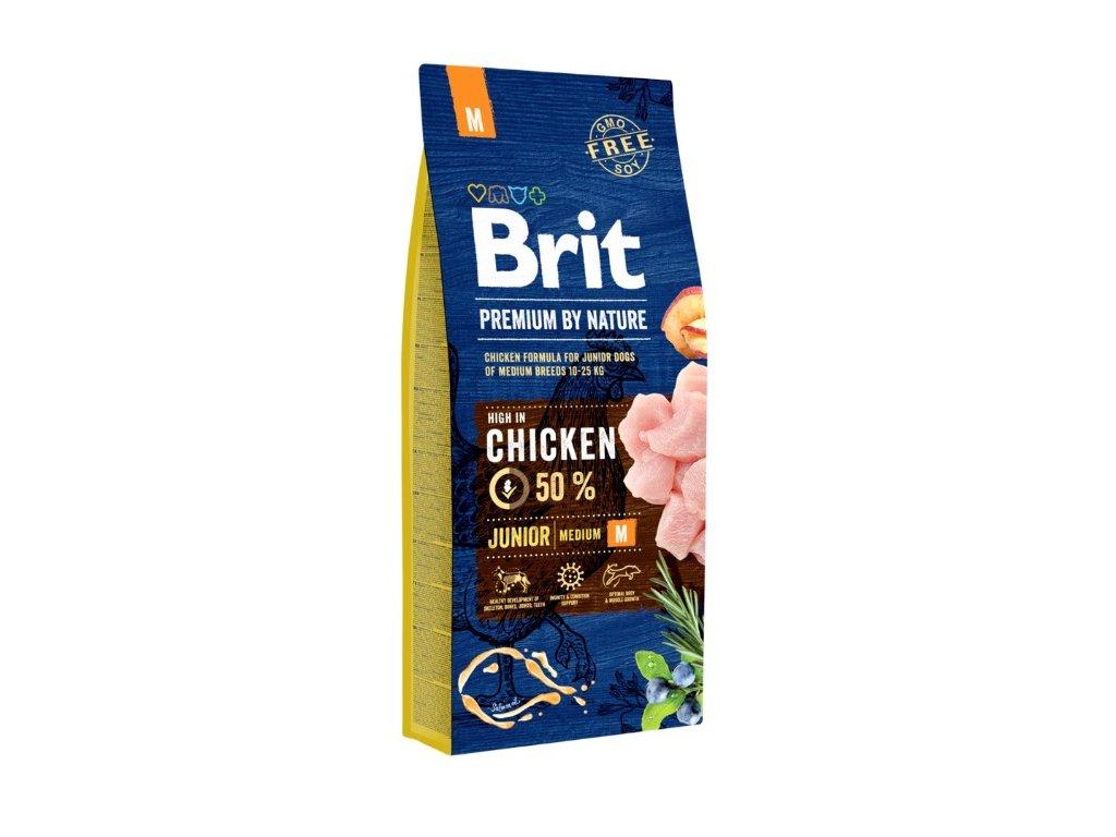5340 brit premium by nature junior m 15kg