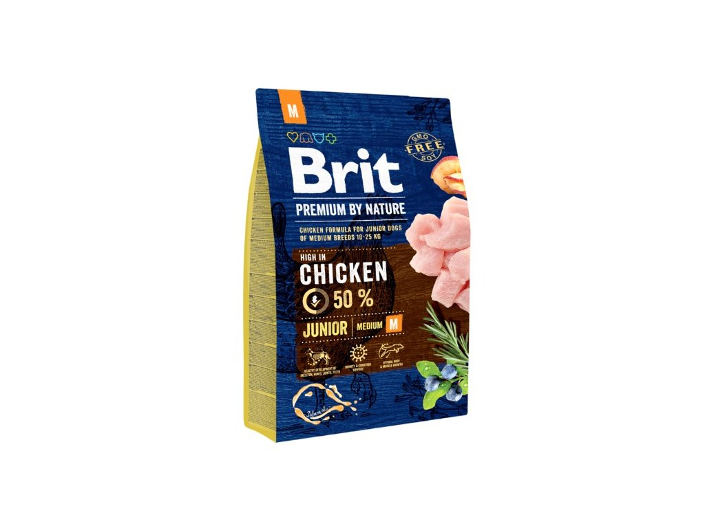 5337 brit premium by nature junior m 3kg