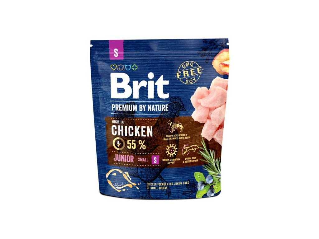 5286 brit premium by nature junior s 1kg