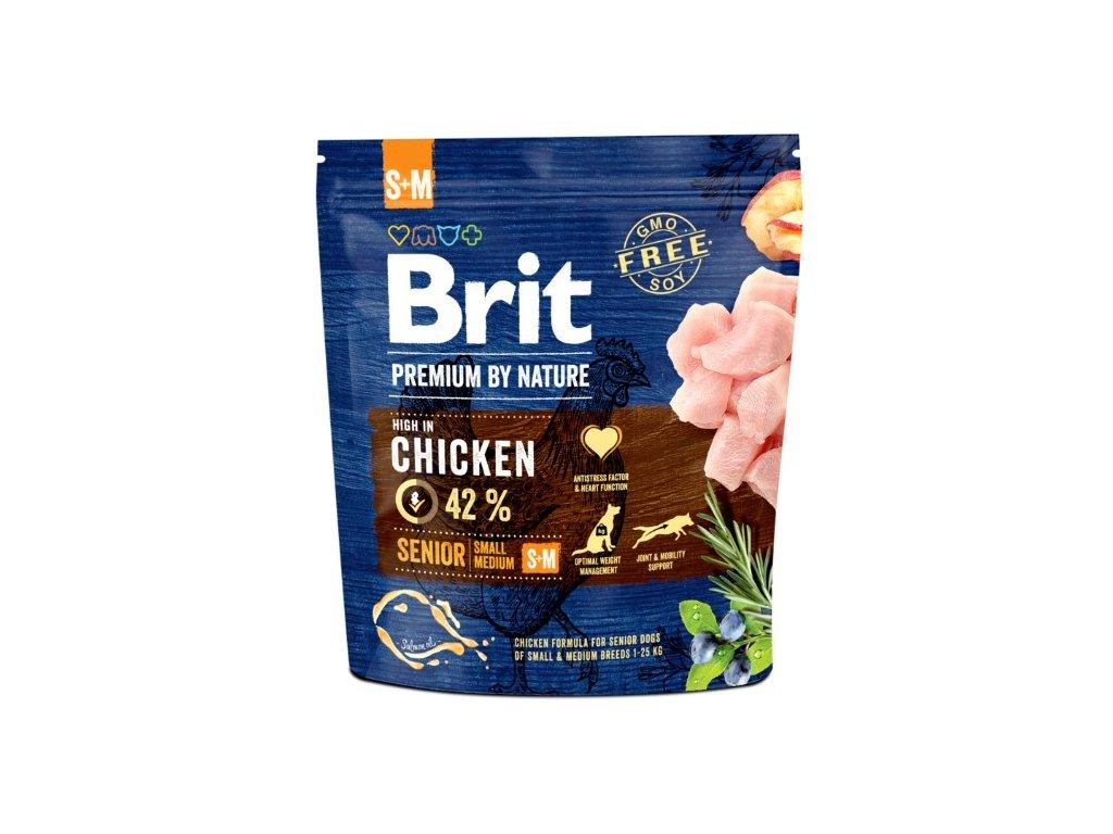 5298 brit premium by nature senior s m 1kg