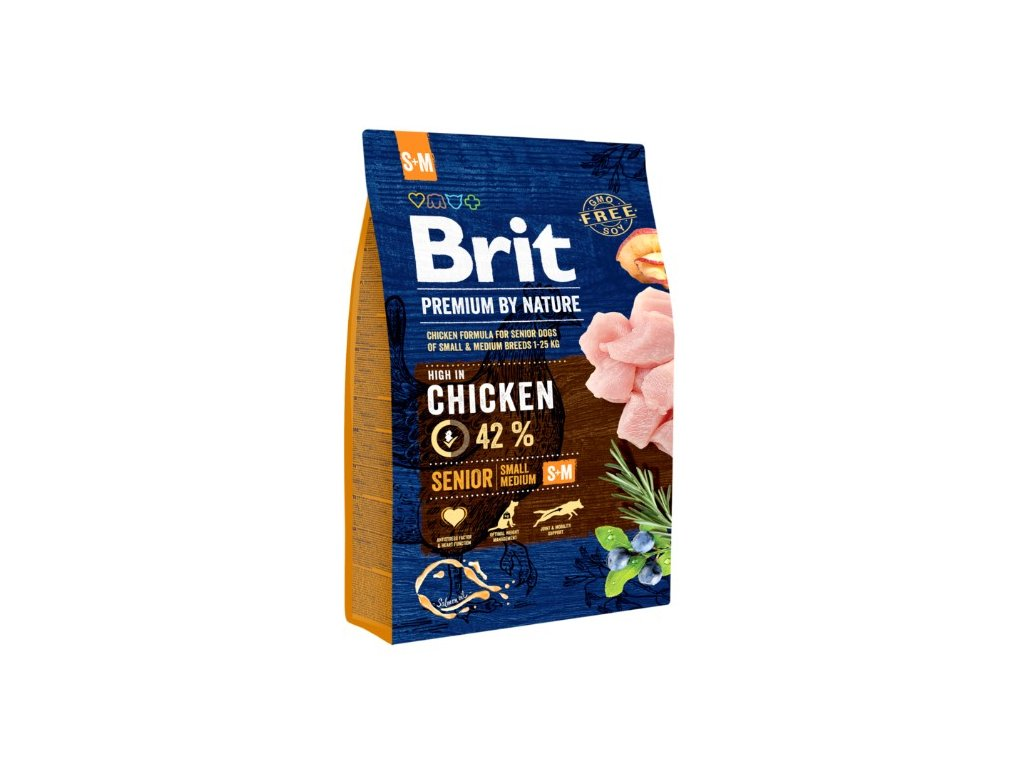 5352 brit premium by nature senior s m 3kg