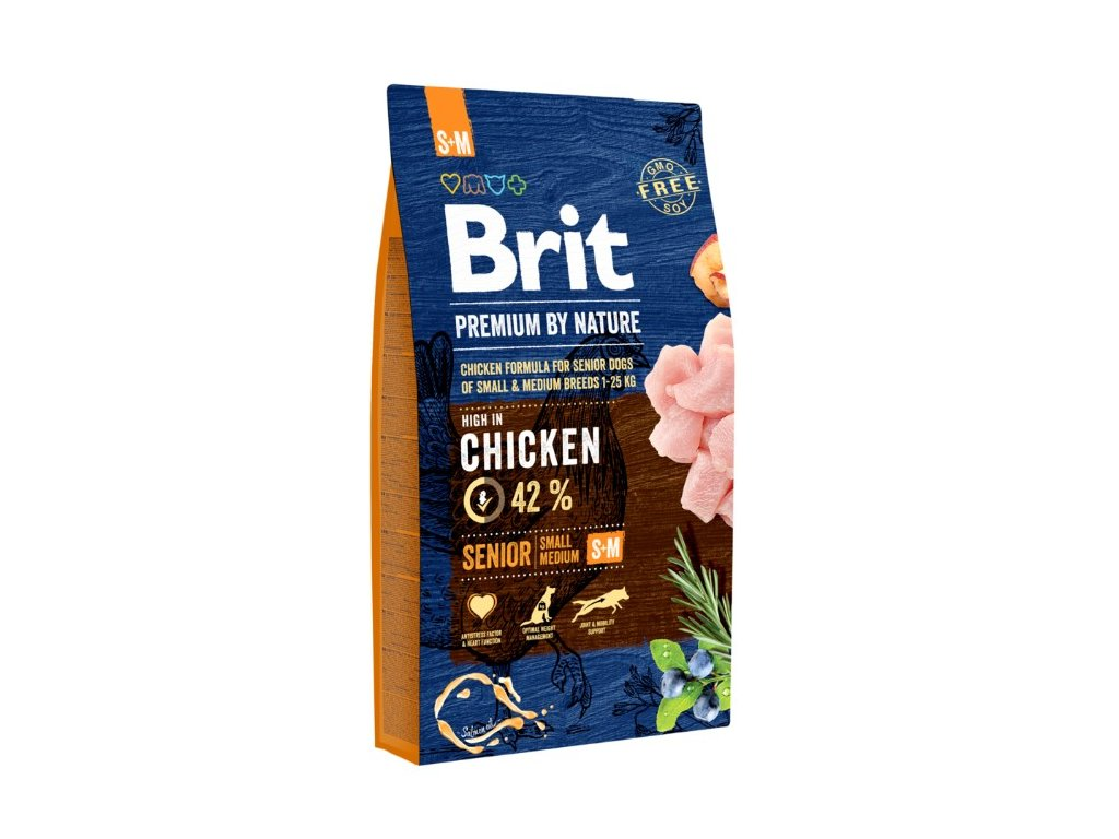 5355 brit premium by nature senior s m 8kg