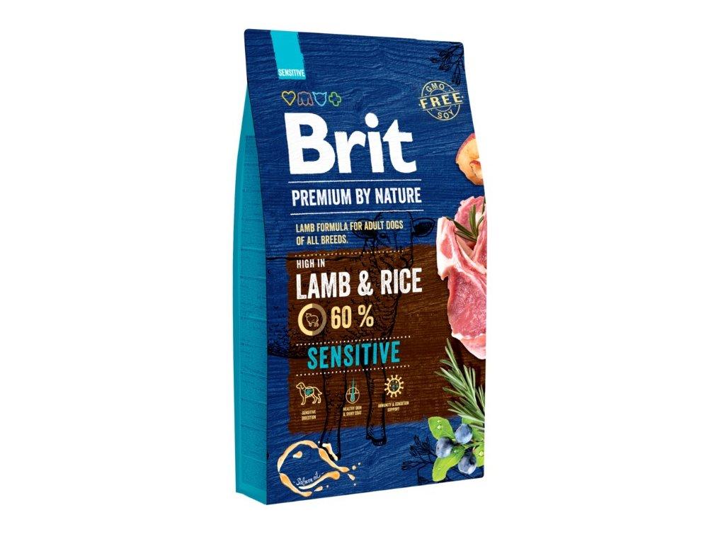 5385 brit premium by nature sensitive lamb 8kg