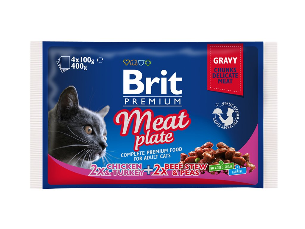 BPC Pouch meat plate