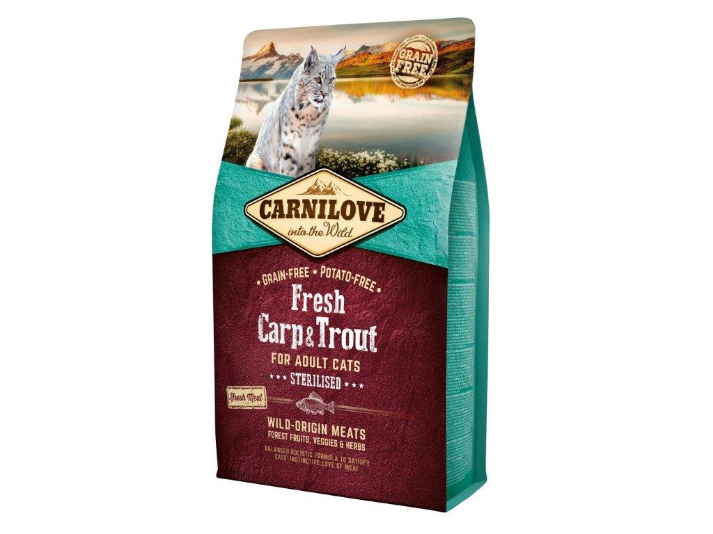 Carnilove Cat Fresh Carp & Trout Sterilized 2 kg