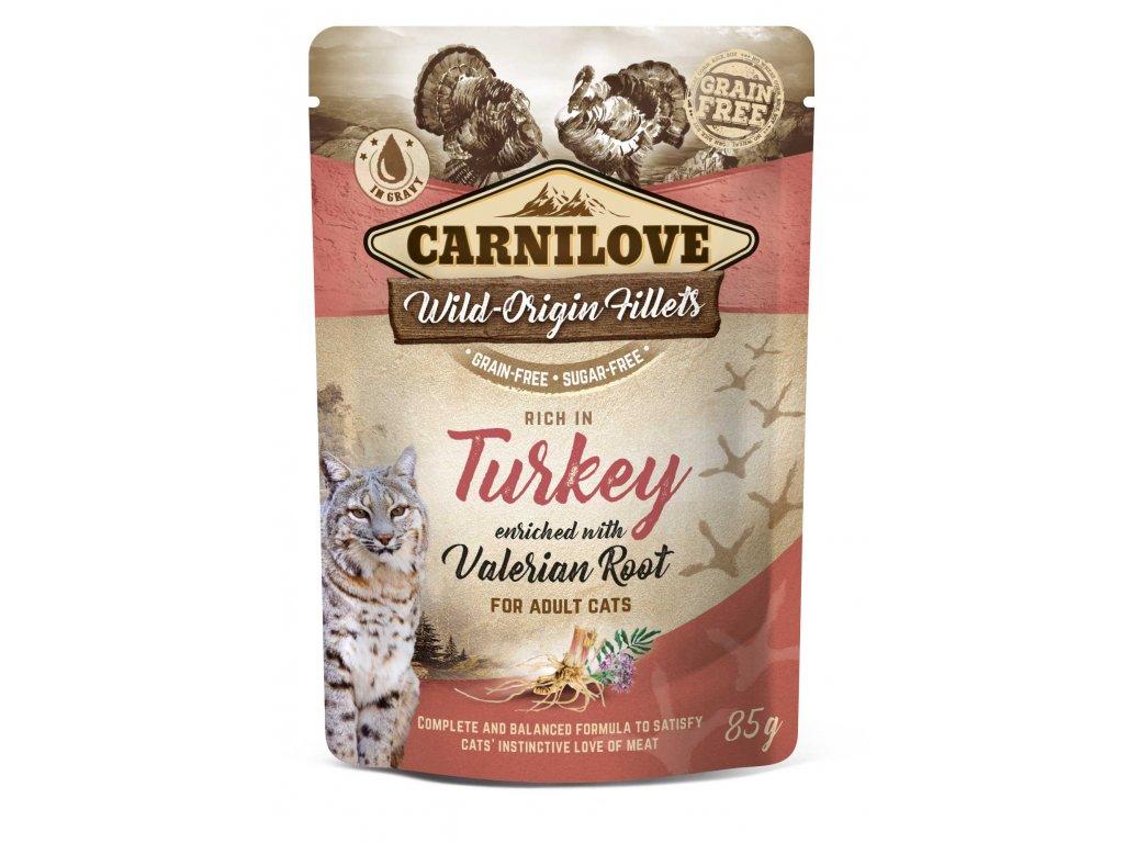 3D 18220 CL WET FOOD CAT 85g pouche TURKEY