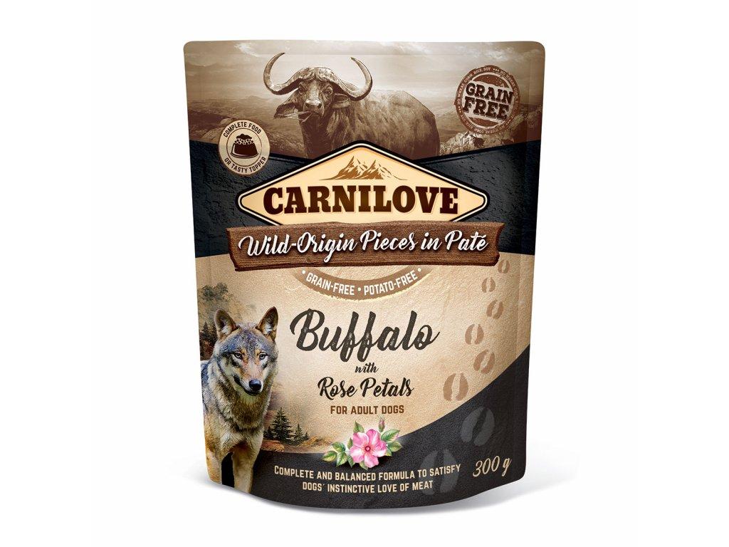 carnilove buffalo rose petals