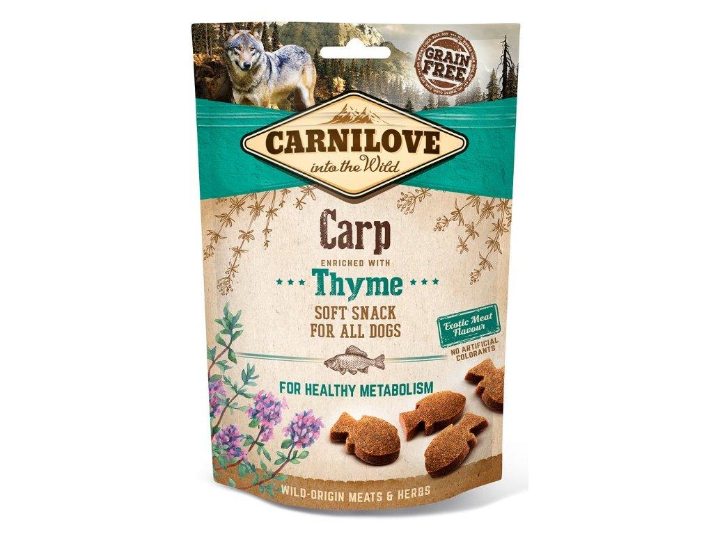 Carnilove Dog Semi Moist Snack Carp & Thyme 200 g