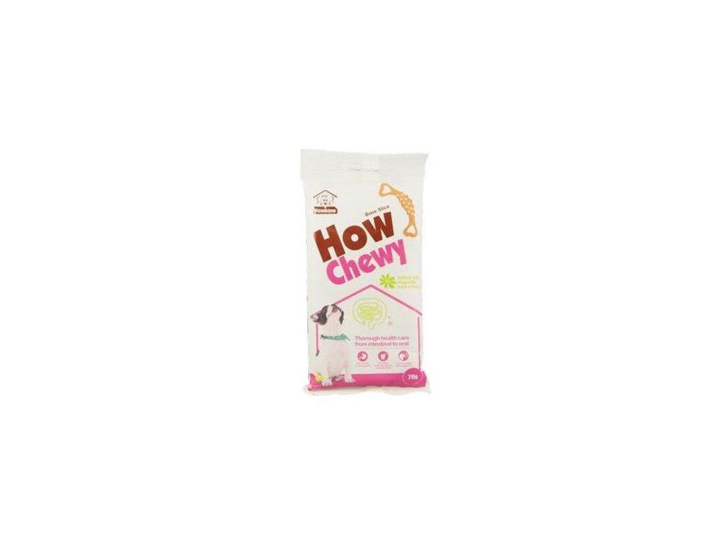 4497 denta pure how chewy bone slice 70g