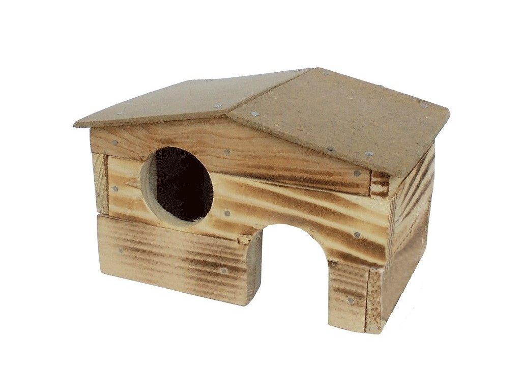 Dřevěná budka Sedlo 1 pro myši