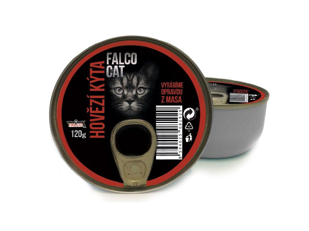 FALCO CAT hovězí kýta 120 g